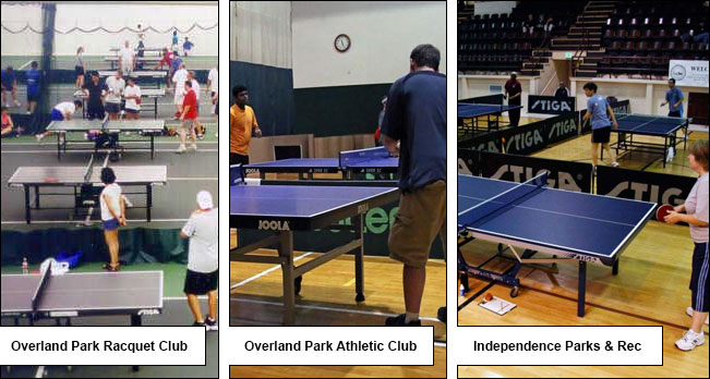 Kansas City Table Tennis Venues