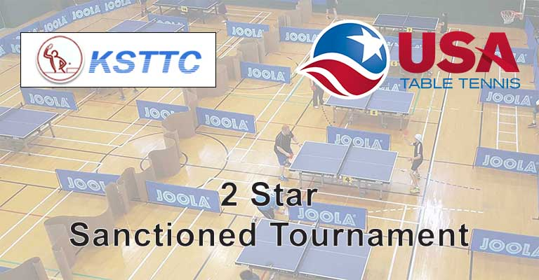 Kansas Table Tennis Center Tournament