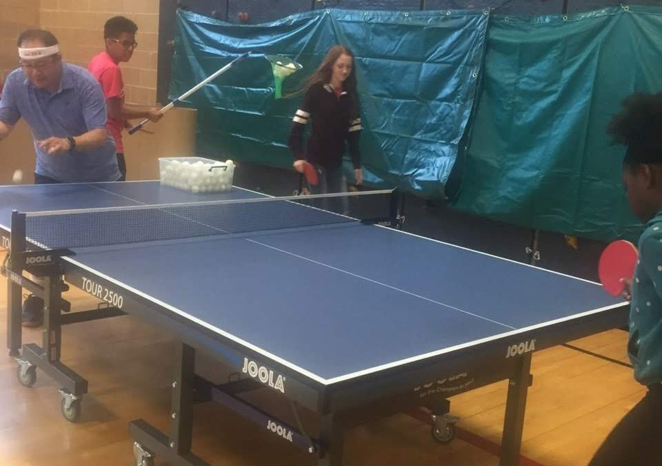 Tony Aguirre Community Center Summer Camp Table Tennis