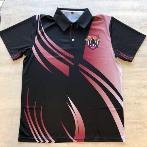 Kansas City Table Tennis Collared Shirt