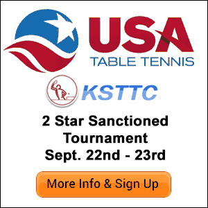Kansas City Table Tennis Tournament
