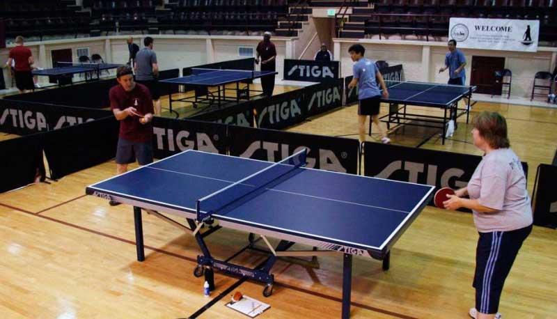 Kansas City Table Tennis Open Play Practice