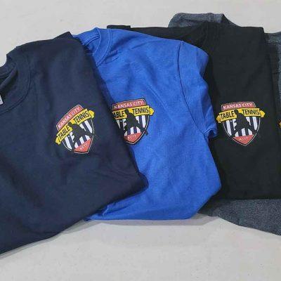 Kansas City Table Tennis T-Shirts